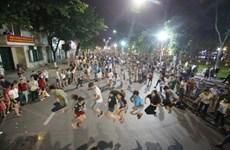 Les rues piétonnes de Hanoï, là où l'on oublie des tourments de la vie quotidienne
