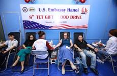 L'ambassade des États-Unis au Vietnam organise la 8e journée du don de sang