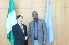 L'ambassadeur vietnamien Dang Dinh Quy discute de l'amélioration des opérations de l'ONU