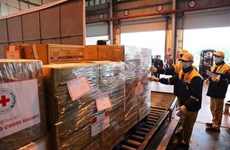 2019-nCoV : la Chine remercie le Vietnam pour ses assistances matérielles