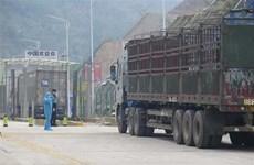 COVID-19 : la porte frontalière de Tan Thanh reprend offiellement ses opérations de dédouanement