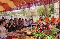Mise en chantier du monument de l'amitié Vietnam-Cambodge dans la province de Kampong Speu