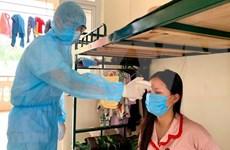 COVID-19: examen des travailleurs ayant eu des contacts avec des personnes contaminées
