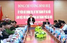 Hanoï suspend de nombreux programmes pour concentrer à la prévention et la lutte contre le COVID-19