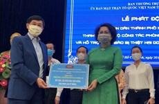 HCM-Ville: 70 mlds de dongs pour le combat de COVID-19 et de sécheresse
