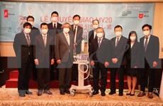 Coronavirus: les deux premiers respirateurs de la SARL Metran (Japon) livrés au Vietnam