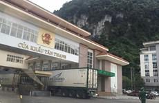 Le dédouanement reprend à la porte-frontalière Tan Thanh - Po Chai