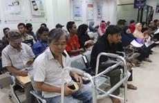 L'Indonésie augmente à nouveau les frais d'assurance-santé