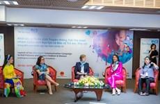 Lancement d'une campagne pour mettre fin à la violence vis-à-vis des enfants et des femmes