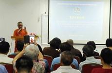 Echange de vues « sanskrit dans la culture bouddhique vietnamienne » à Hanoï