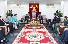La province de Binh Duong promeut ses liens avec les localités lao