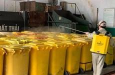 Processus strict dans le traitement des déchets médicaux pour empêcher le COVID-19