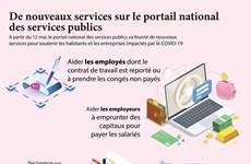 De nouveaux services sur le portail national des services publics
