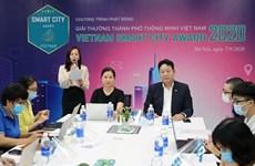 Lancement du prix « Ville intelligente du Vietnam 2020 »