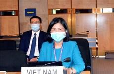 Le Vietnam à la 45e session du Conseil des Droits de l'homme de l'ONU