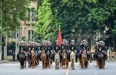 La Police mobile à cheval voit le jour avec un défilé sur la place de Ba Dinh