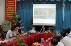Un pont enjambant la rivière Ganh Hao reliant Ca Mau et Bac Lieu sera construit