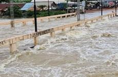 Des pluies torrentielles causent de fortes inondations au Cambodge