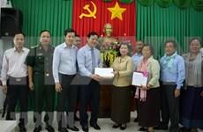 La vice-Première ministre cambodgienne au chevet des sinistrés du Centre