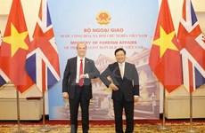 Pour un nouvel élan du partenariat stratégique Vietnam-Royaume-Uni