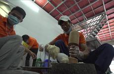 Galettes de seiche de Ha Long, spécialité culinaire de Quang Ninh