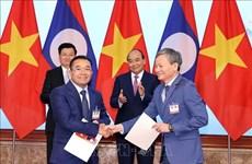 EVN signe de nombreux protocoles d'accord d'achat d'électricité avec le Laos