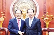 Ho Chi Minh-Ville et la République de Corée resserrent leur coopération