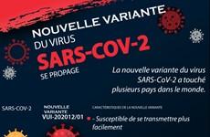 Une nouvelle variante du virus SARS-COV-2 se propage