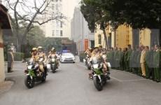 La police de Hanoi met en œuvre des plans pour assurer la sécurité du congrès du Parti