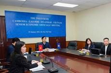 Elaboration du plan d'action régional Cambodge-Laos-Myanmar-Vietnam 2021-2022