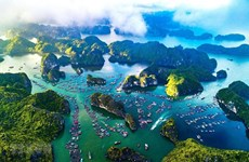Le dossier de candidature de la «Baie d'Ha Long – archipel de Cat Ba» pour l'UNESCO achevé