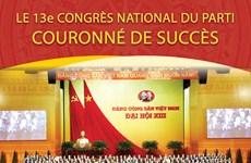 Le 13e Congrès national du Parti couronné de succès