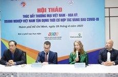 Séminaire sur la promotion du commerce bilatéral Vietnam - États-Unis