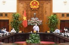 Le Premier ministre travaille avec des responsables du ministère du Plan et de l'Investissement