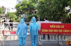 Da Nang mène des exercices électoraux face à la situation sanitaire compliquée