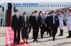 La presse lao apprécie la visite d'amitié officielle au Vietnam du SG du Parti et président lao