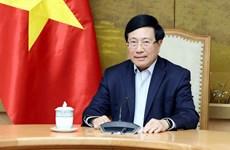 Vietnam-Etats-Unis : Conversation en ligne entre Pham Binh Minh et Jake Sullivan