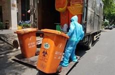 Les localités doivent traiter les déchets médicaux générés par la pandémie de COVID-19