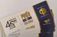 """Saigontourist prolonge ses vouchers """"45 ans"""""""
