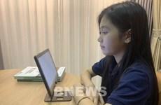 Le groupe FPT offre des matériels d'apprentissage en ligne aux élèves de Can Tho