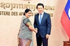 Inde et Laos fixent le processus de renforcement des relations bilatérales