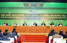 La vidéoconférence et l'exposition nationale sur l'agriculture et la campagne