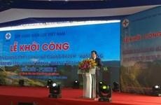 Quang Nam: construction d'une ligne électrique à 500 kV