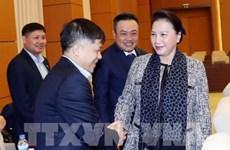 La présidente de l'Assemblée Nationale travaille avec le Groupe national gazo-pétrolier du Vietnam