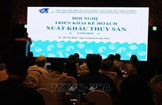 Exportations des produits aquatiques: 10 milliards de dollars comme objectif pour 2019