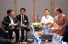 Le vice-PM et ministre des AE rencontre la princesse héritière de Suède