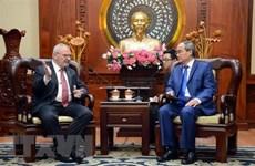 Coopération renforcée entre Ho Chi Minh-Ville et les Etats-Unis