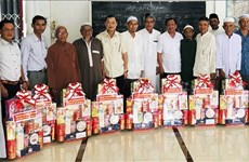Roya Haji des Cham: les responsables d'An Giang formulent leurs vœux