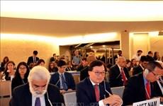 Le Conseil des droits de l'homme se concentre sur le changement climatique