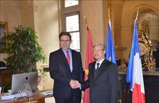 Une délégation du PCV en visite en France
